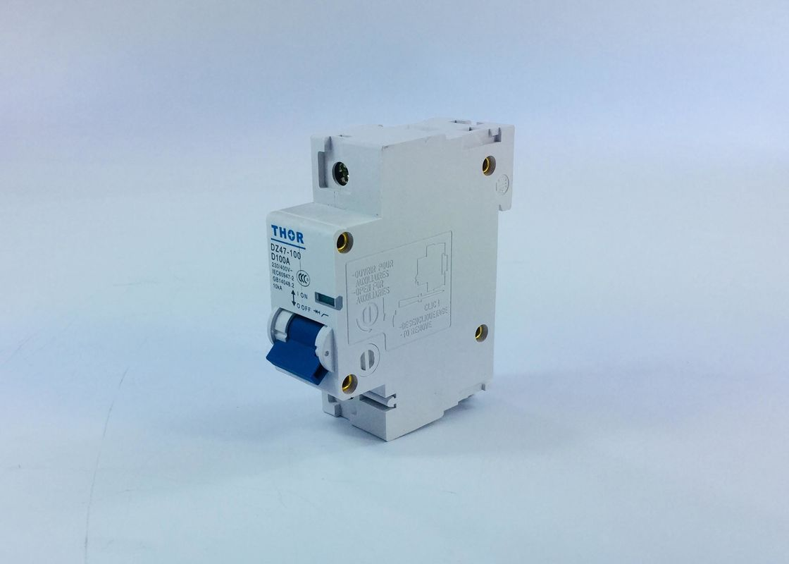 House Terminal Modular Circuit Breaker High Limiting Coefficiency Fire Line Only