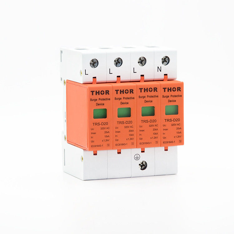 Power surge protection device low voltage arrester surge protector 220v