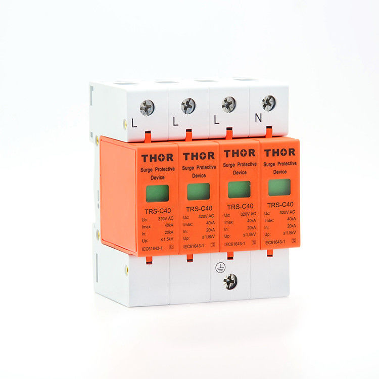 Power surge voltage protector 40KA lightning arrester electrical power protection