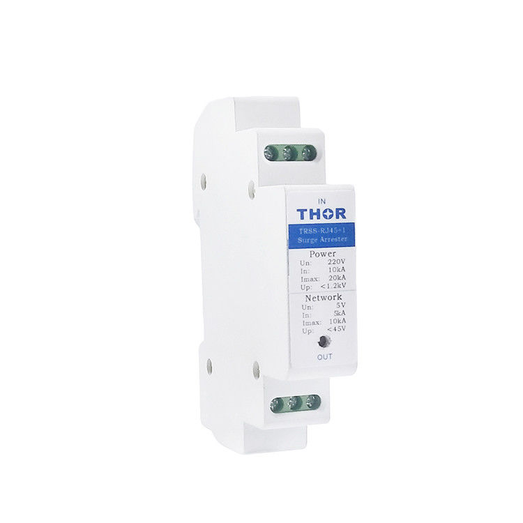 RJ45 spd device protection lightning ethernet RJ45 surge protector